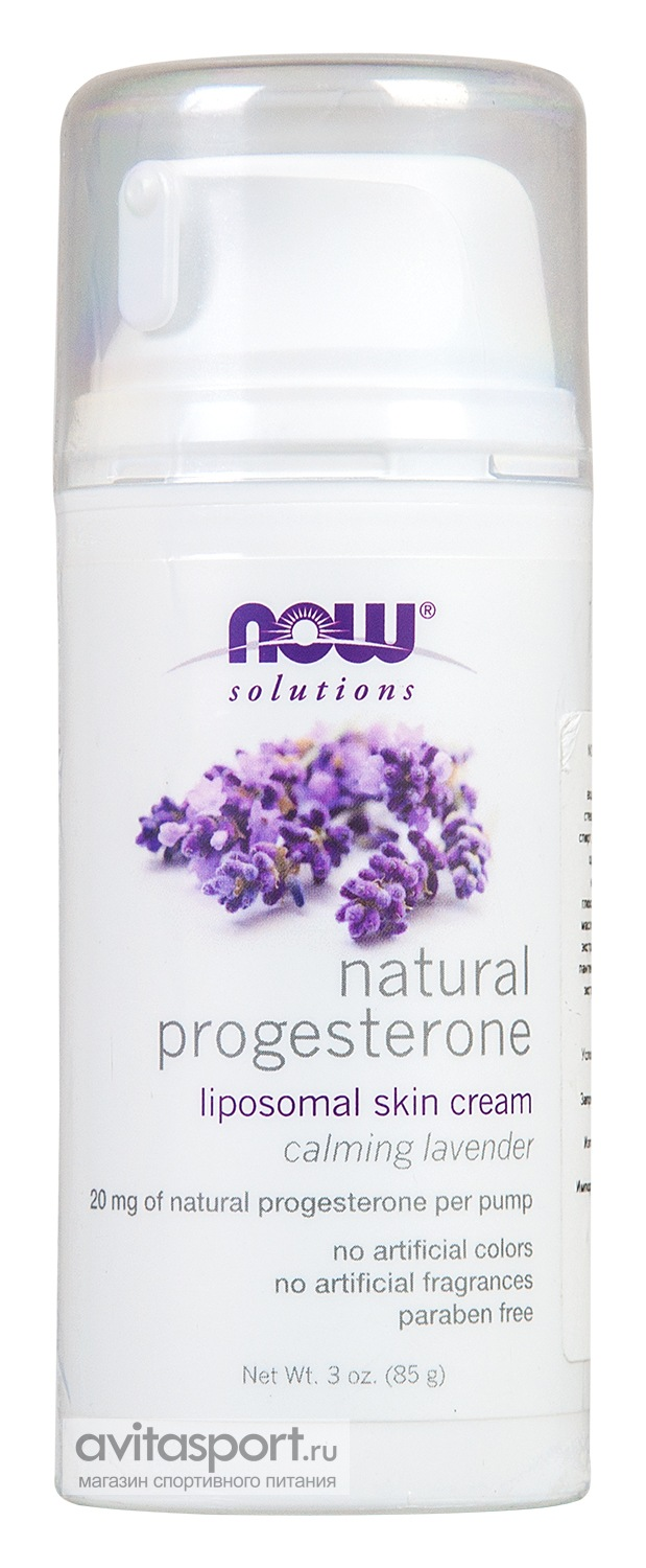 NOW Natural Progesterone Liposomal Skin Cream 85 г