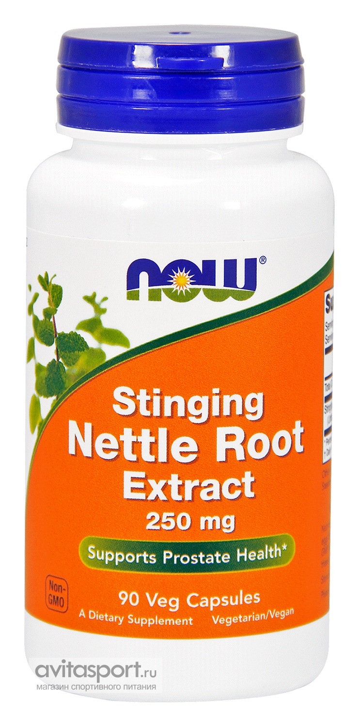 NOW Stinging Nettle Root Extract 90 капсул вегетаринаских