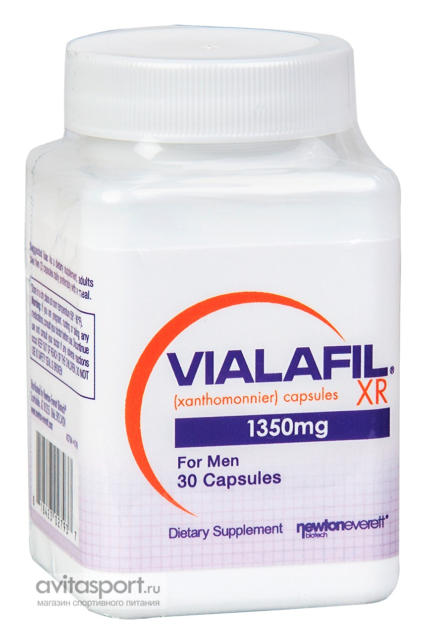 Newton-Everett Nutraceuticals Vialafil XR 30 капсул
