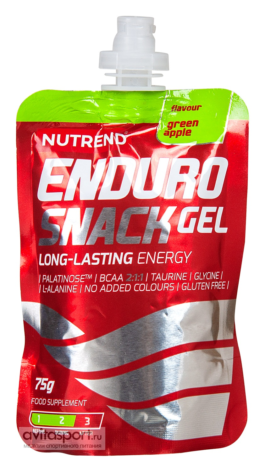 Nutrend Enduro Snack Gel 75 г / Пакетик