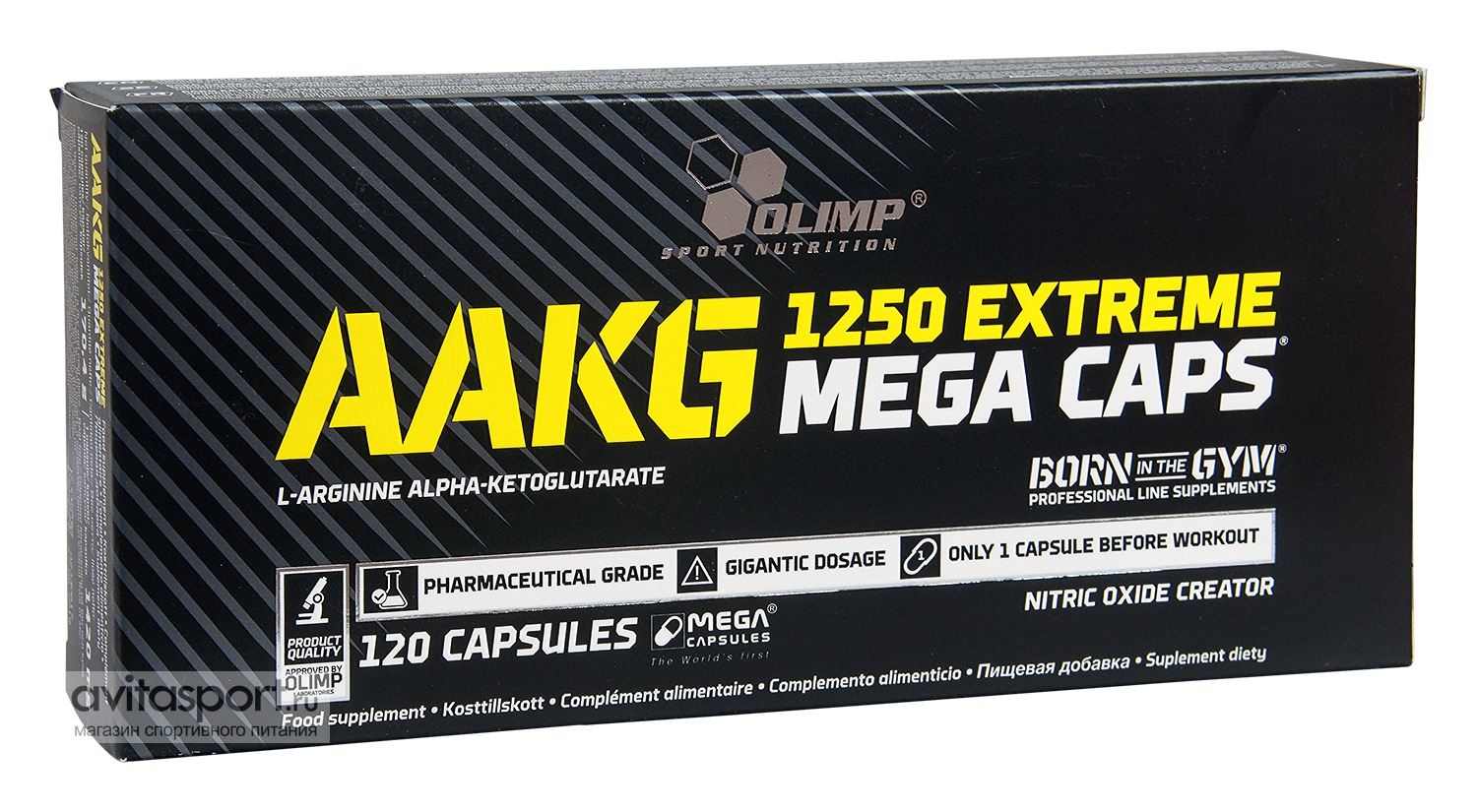 Olimp AAKG 1250 Extreme  120 капсул