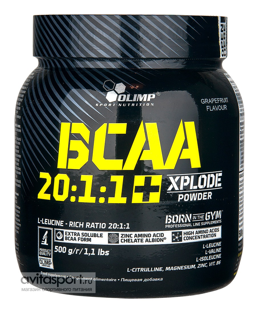 Olimp BCAA 20:1:1 Xplode Powder 500 г