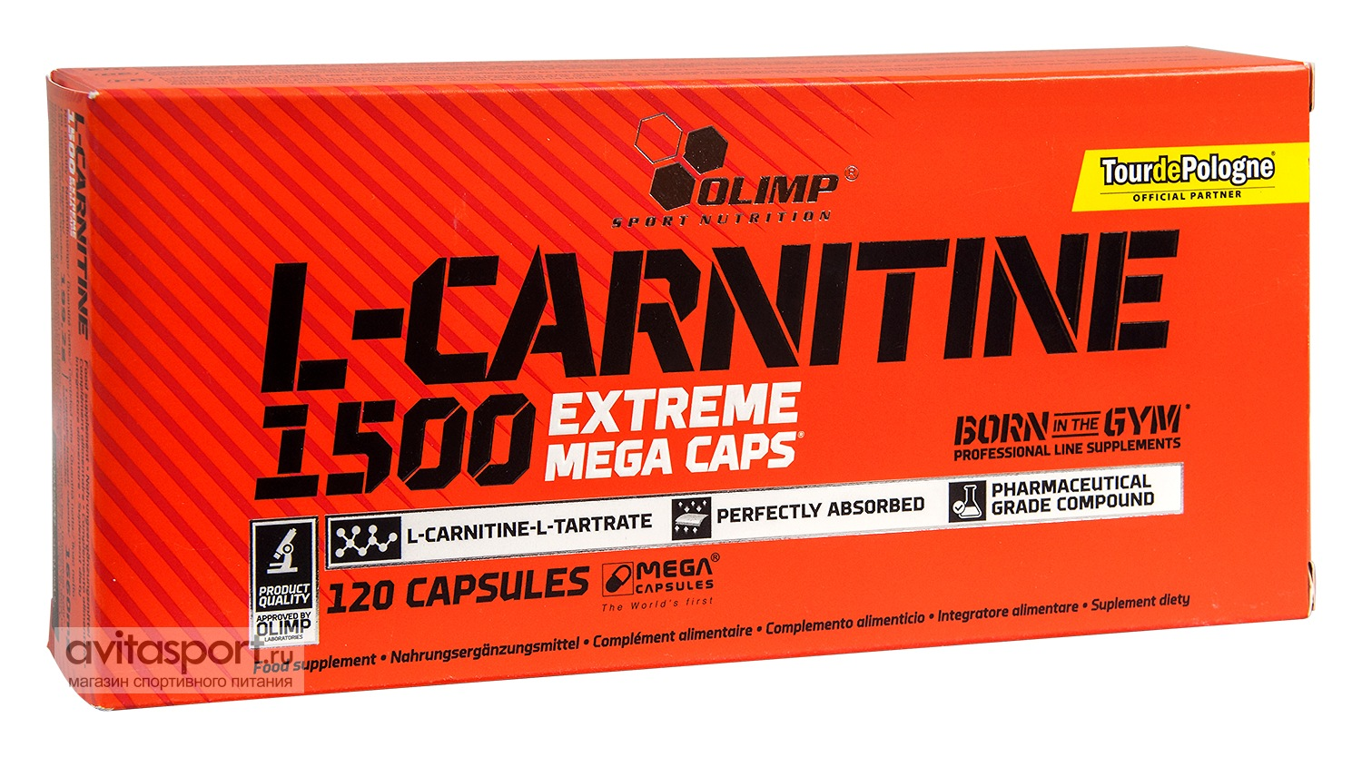 Olimp L-Carnitine 1500 Extreme 120 капсул