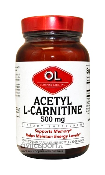 Olympian Labs Acetyl L-Carnitine 60 капсул
