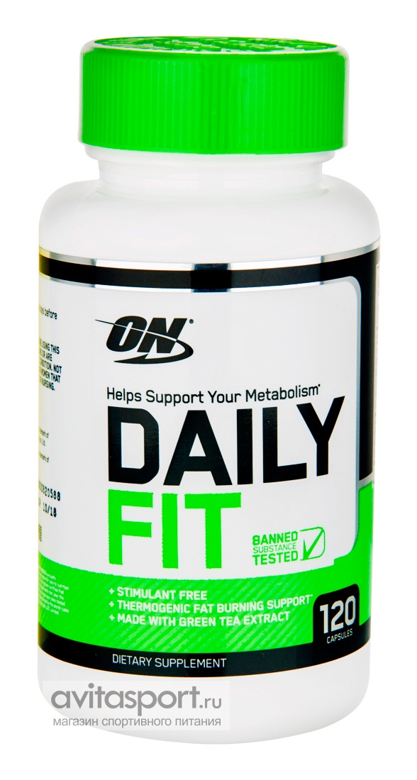 Optimum Nutrition Daily Fit 120 капсул