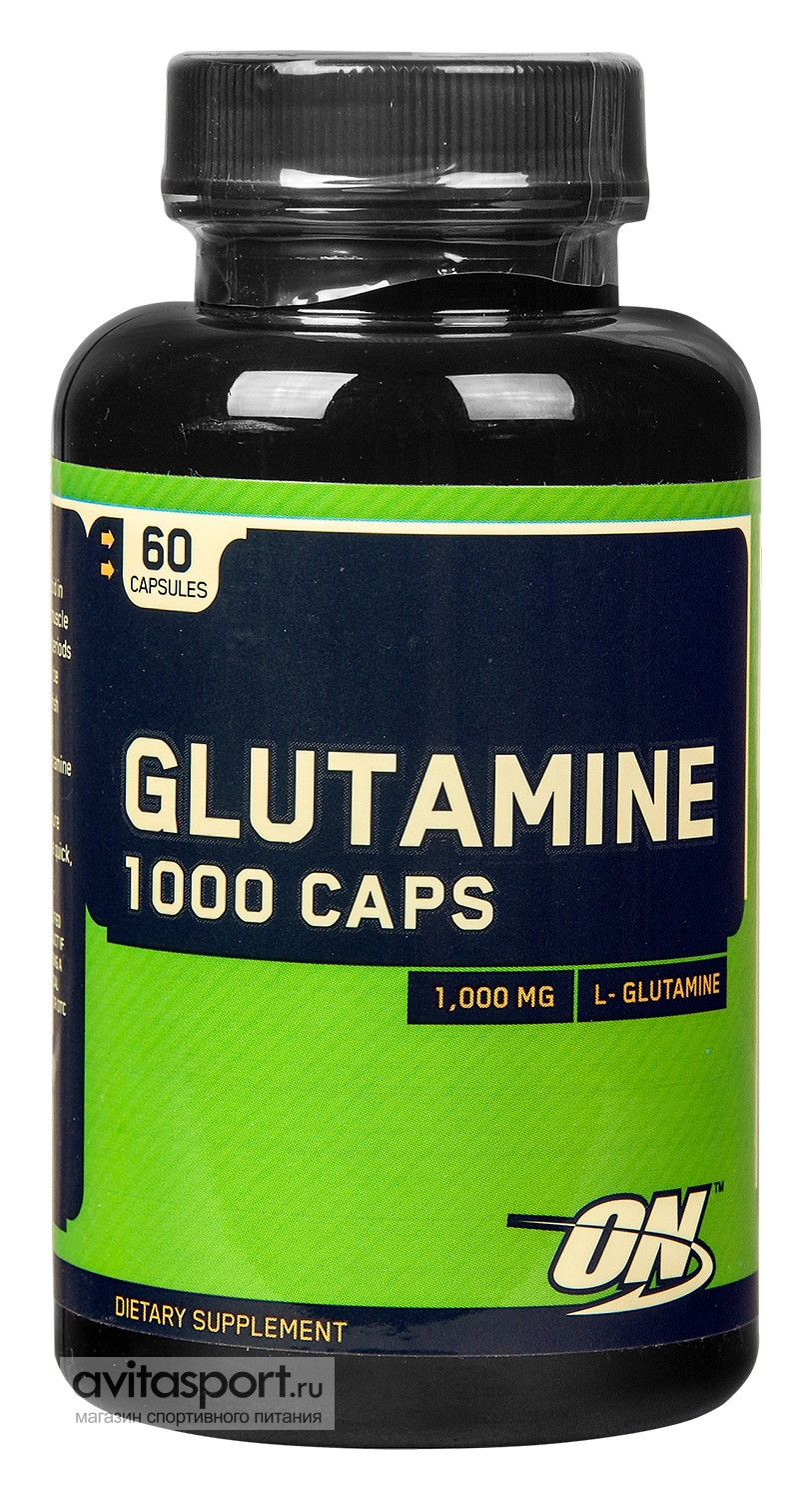 Optimum Nutrition Glutamine 1000 Caps 60 капсул