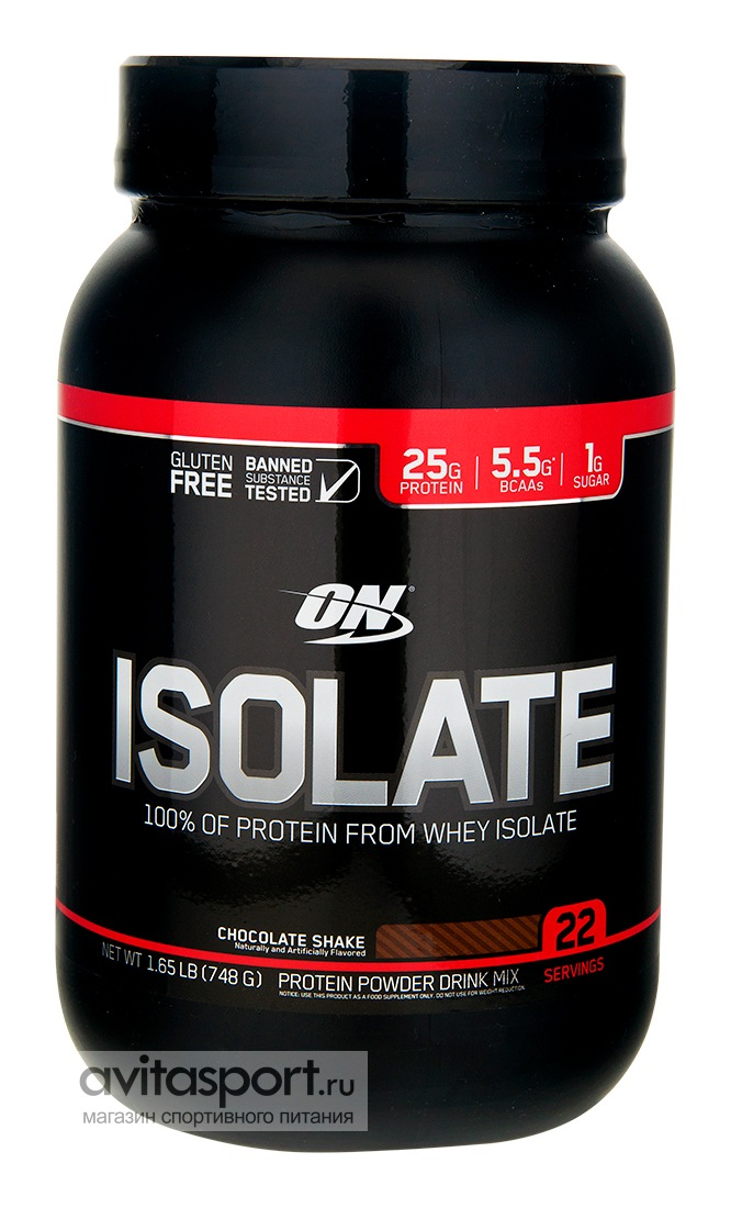 Optimum Nutrition Isolate 736-748 г