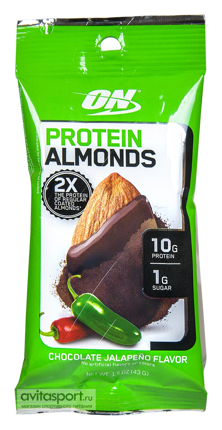 Optimum Nutrition Protein Almonds 43 г