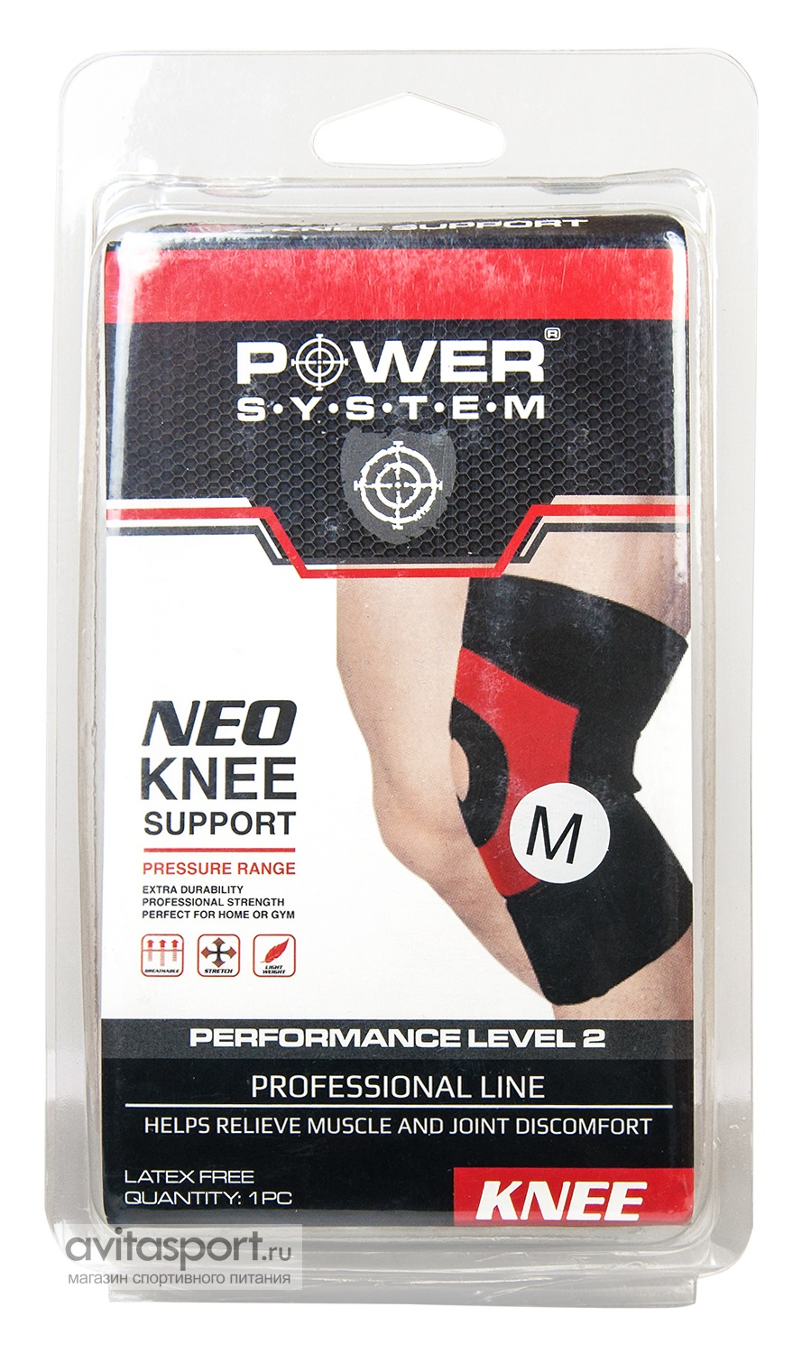 Power System Accessories Суппорт для колена Neo Knee Support PS-6012 1 шт