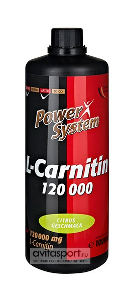 Power System L-Carnitin 3000 мг в 25 мл / 1000 мл
