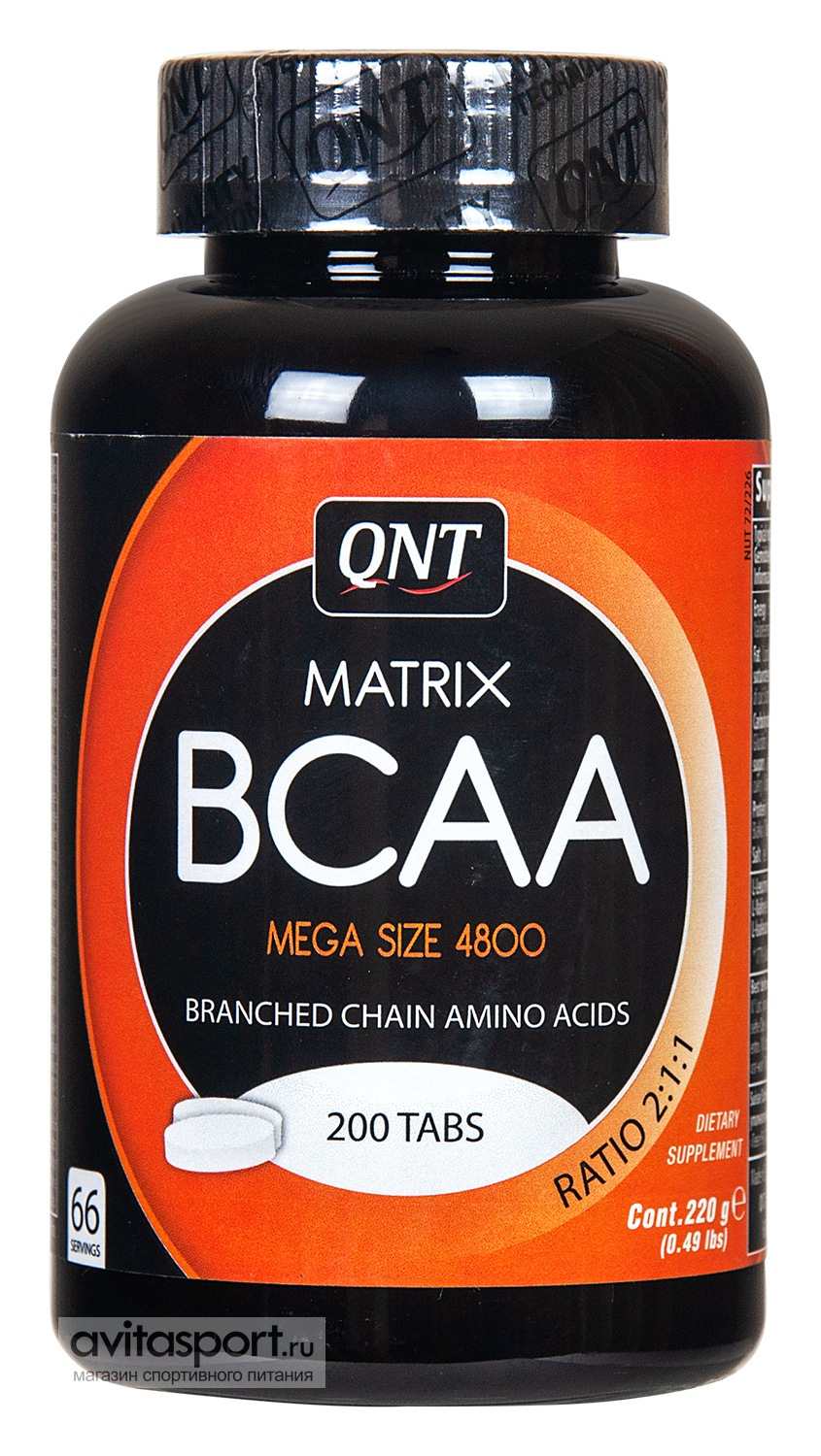 QNT BCAA Matrix 200 таблеток