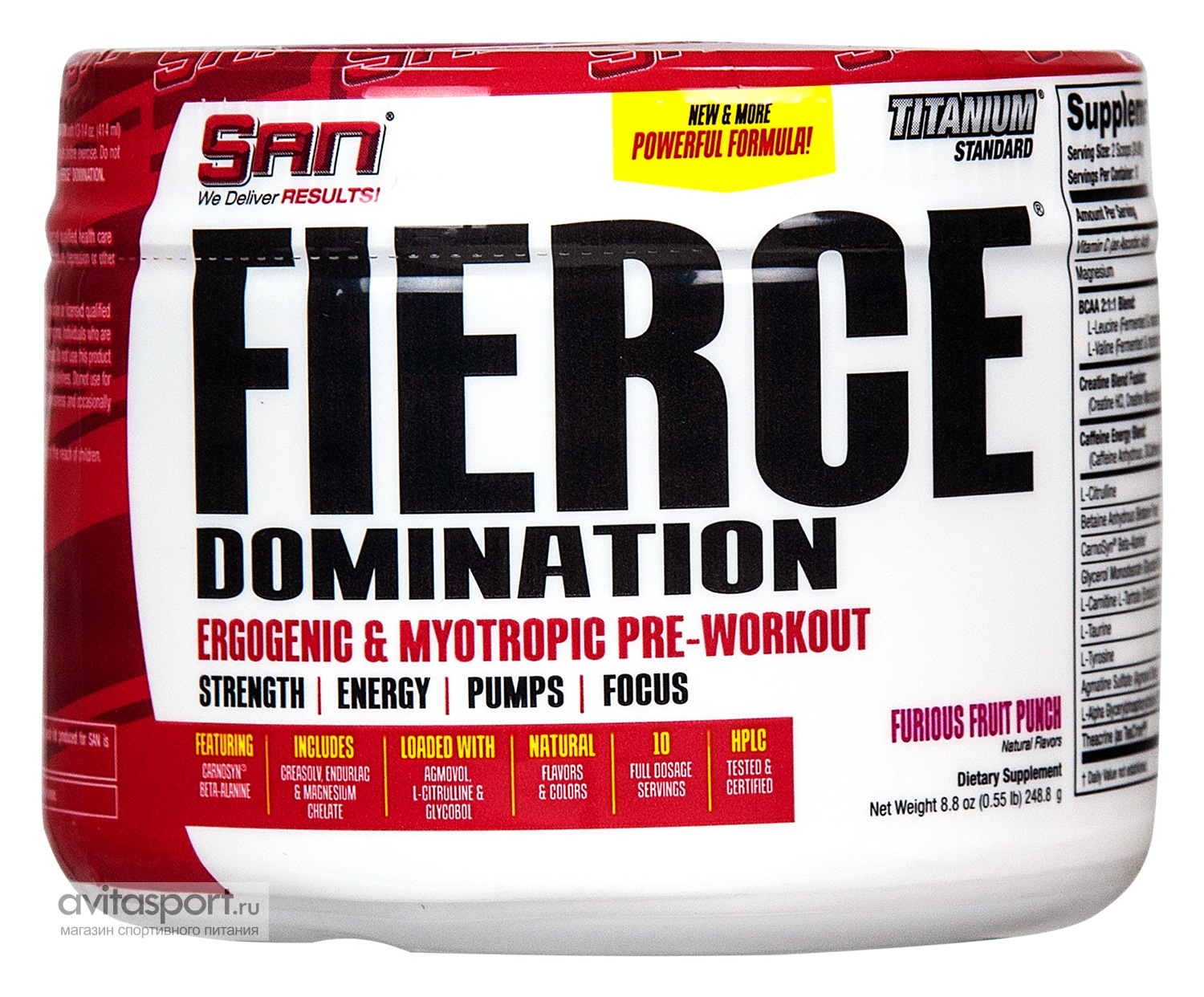 SAN Fierce Domination 250 г
