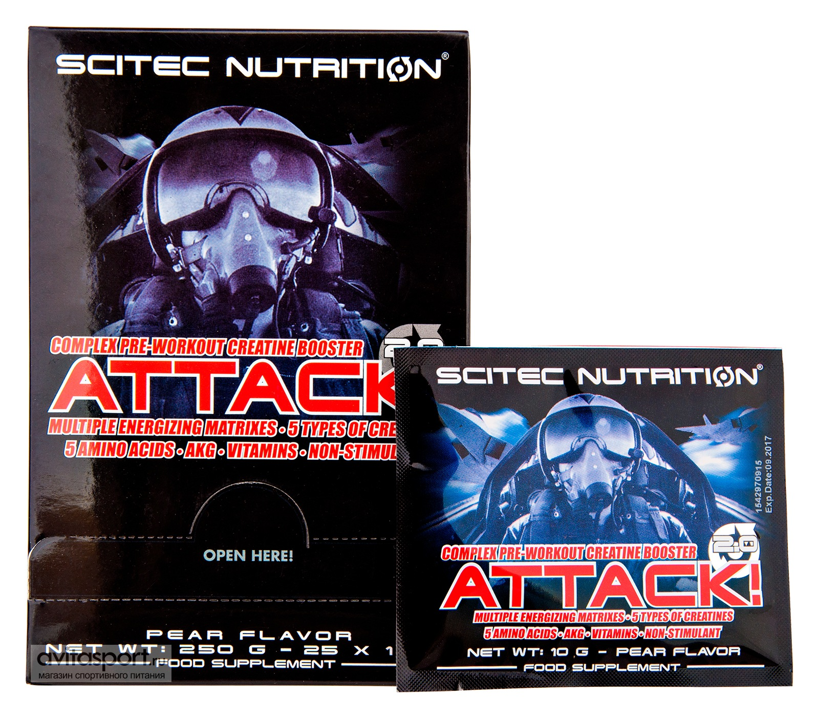 Scitec Nutrition Attack! 2.0 10 г
