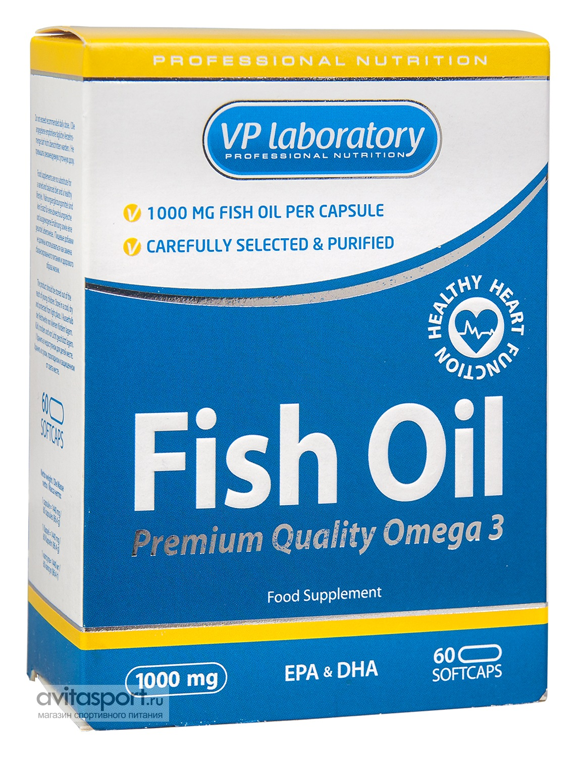 VP Laboratory Fish Oil 60 капсул