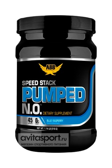 Optimum Nutrition ABB Speed Stack Pumped N.O. 518 г