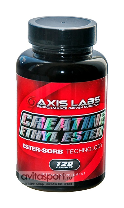 Axis Labs Creatine Ethyl Ester 120 капсул