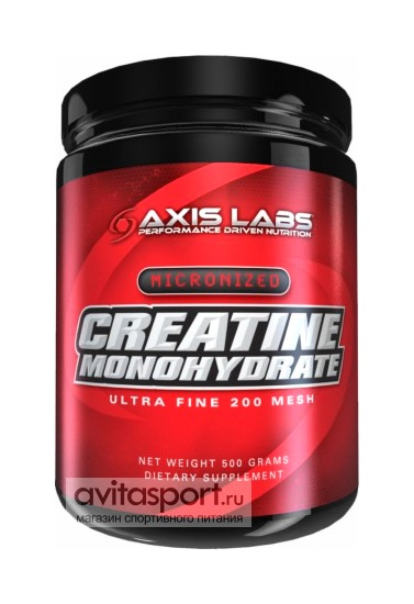Axis Labs Creatine Monohydrate 500 г