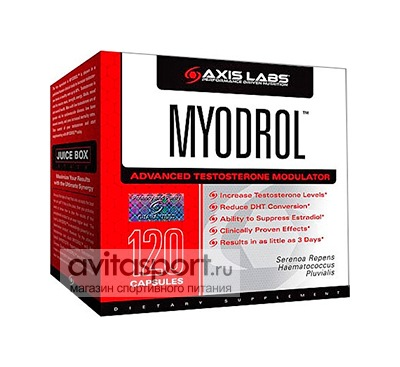 Axis Labs Myodrol 120 капсул