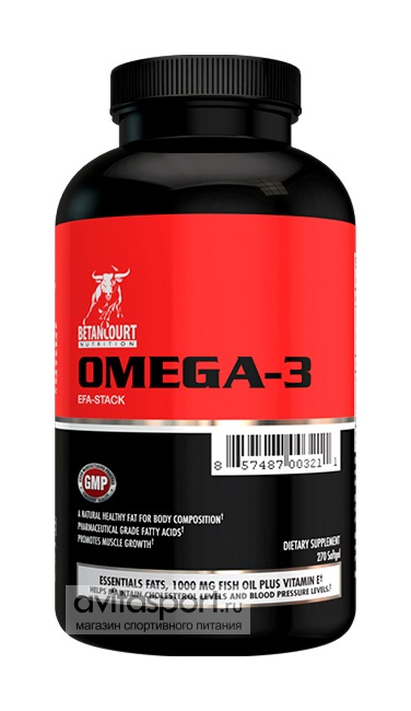 Betancourt Nutrition Omega-3 270 капсул