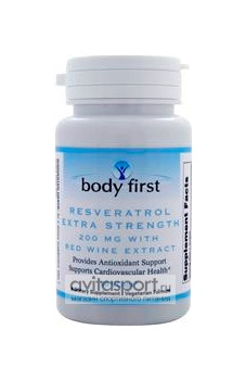 Body First Resveratrol 60 капсул