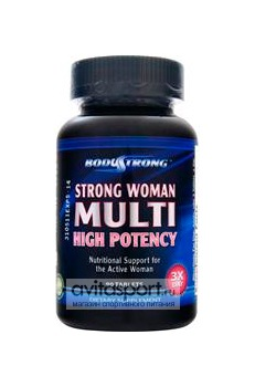 BodyStrong Strong Woman Multi High Potency 90 таблеток