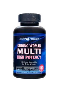 BodyStrong Strong Woman Multi High Potency 180 таблеток