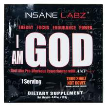 Иконка Insane Labz I Am God