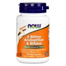 Иконка NOW 0 Billion Acidophilus & Bifidus
