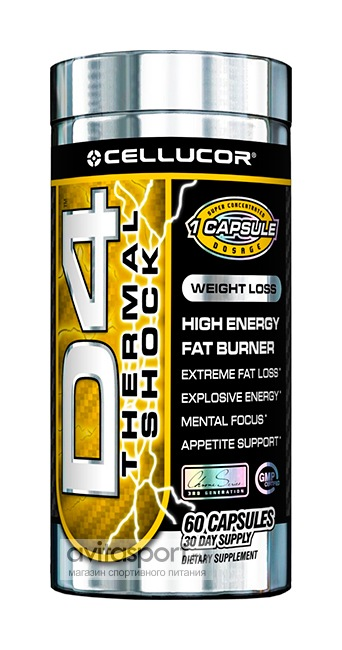 Cellucor D4 Thermal Shock 60 капсул
