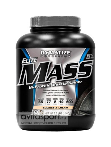 Dymatize Elite Mass 1500 г