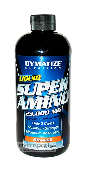Dymatize Super Amino 23000mg Liquid 473 мл