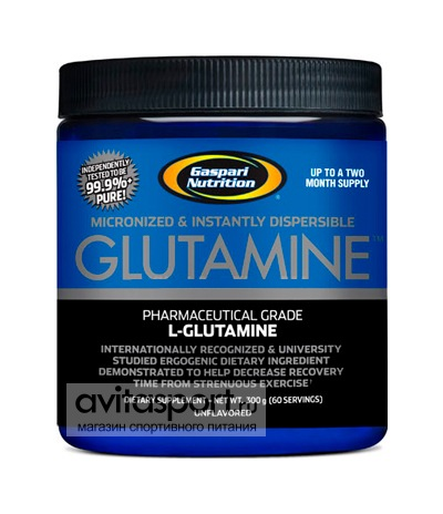Gaspari Nutrition Glutamine 300 г