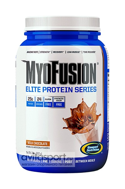 Gaspari Nutrition MyoFusion Elite 907 г