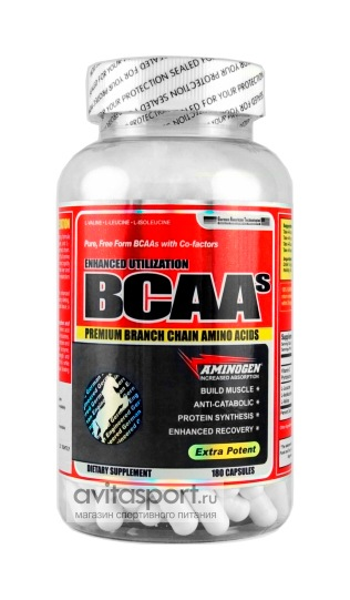 German American Technologies BCAA 180 капсул