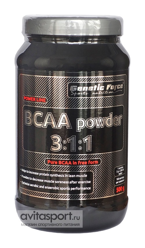 Genetic Force BCAA powder 3:1:1 500 г