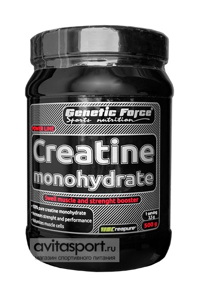 Genetic Force Creatine Monohydrate 500 г