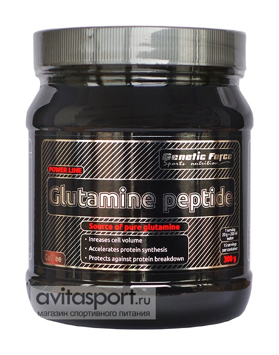 Genetic Force Glutamine peptide 300 г