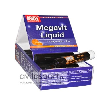 Genetic Force Megavit Liquid 20 ампул