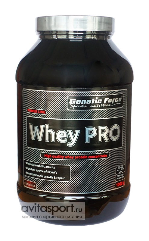 Genetic Force Whey PRO 1000 г
