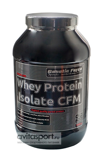Genetic Force Whey Protein Isolat CFM 1000 г