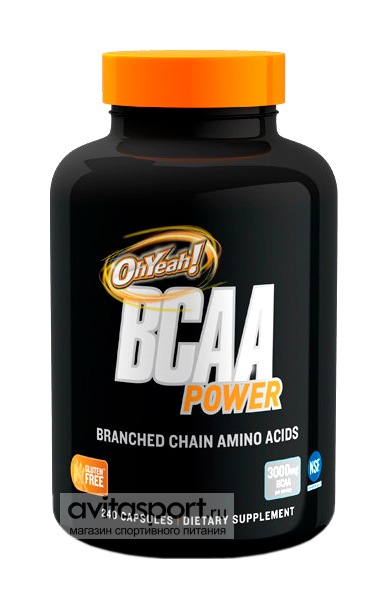ISS OhYeah! BCAA Power 240 капсул