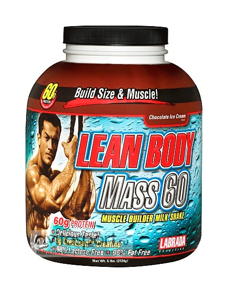 Lean body mass 60