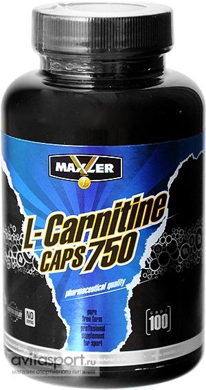 Maxler L-Carnitine 100 капсул – магазин спортивного питания ...