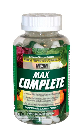 MaxMuscle Max Complete 180 капсул