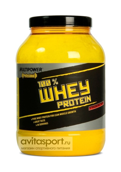 Multipower 100% Whey Protein 908 г