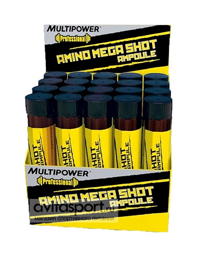 Multipower Amino Mega Shot 20 ампул