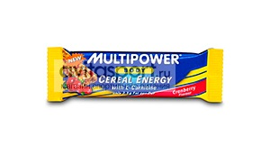 Multipower Батончик Cereal Energy with L-Carnitine Bar 25 г