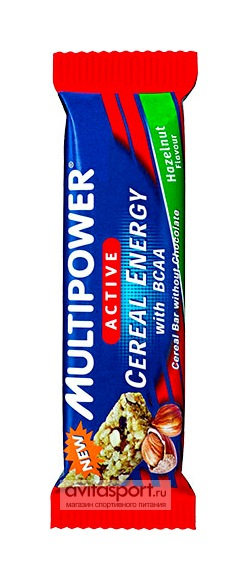 Multipower Батончик Cereal Energy with BCAA Bar 25 г