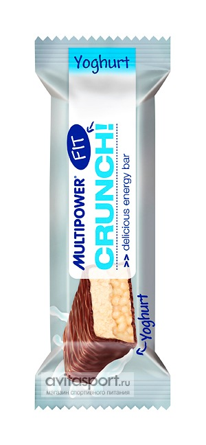 Multipower Батончик Crunch Fit Bar 36 г