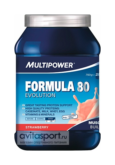 Multipower Formula 80 Evolution 750 г